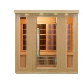 Sn-08 1750 x 1350 x 1900 mm Mini hogar sala de Sauna de vapor