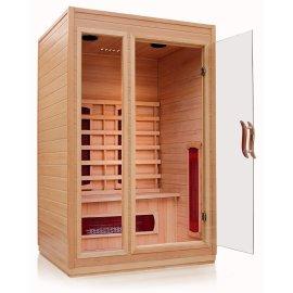 Sn-10 1000 x 950 x 1900 mm infrarrojo lejano Sauna sala de uso de la familia