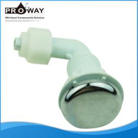 Aj-012 ABC cromado bañera accesorios 8 mm de la manguera de aire de chorro de aire
