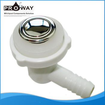 Aj-016c 1.5 mm de espesor cubierta bañera piezas de chorro de aire paquete