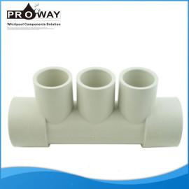 Sistema de agua distribuidor de corriente para automóvil bañera de agua de plástico colector