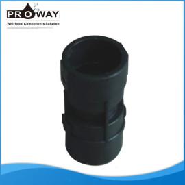 Negro PVC para bañera SPA o de plástico de la válvula