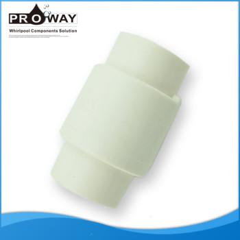 Sanitaria bañera piezas sistema métrico 32 mm válvula de retención de plástico