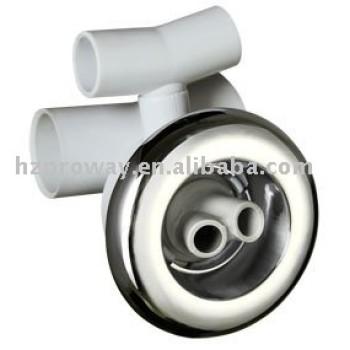 Pulgadas de hidromasaje de chorro de agua ABS cubierta de la pulgada de PVC cuerpo de agua lancha motor