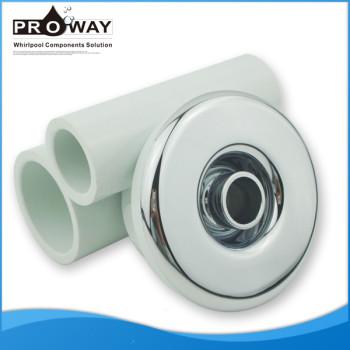 Whirlpool las piezas del baño ABS de plástico tapa de la boquilla de pulverización