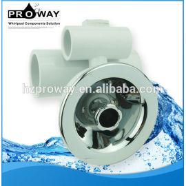 Warm WJ-0020 ABS cromado D80mm boquilla de aspersión de agua