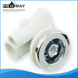 D78mm blanco PVC cuerpo de aire y de chorro de agua