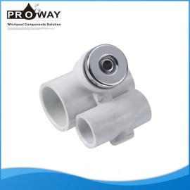 Métricas 20 mm Water ID x20mm ID de aire agua moderna bañera de chorro de agua