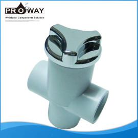 China fabricante PVC bañera piezas válvula unidireccional