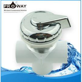 Bañera de hidromasaje de partes de agua válvulas de plástico