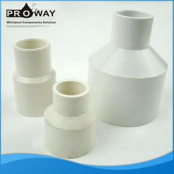 Manguera de aire de la conexión de 32/25 o 32/20 de reducción de bañera piezas de instalación de tuberías