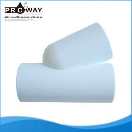 32 mm de la bañera tubería de PVC blanco de ajuste de la curva cerrada