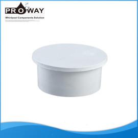 Instalación de tuberías de 20 mm de baño PVC plug cap