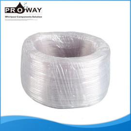Tubos de plástico PVC 3 * 6 mm de la bañera piezas de manguera de ducha Flexible