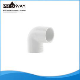 Codo 90 Degree Whirlpool componentes PVC chorro de aire accesorios