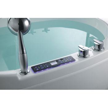 Bañera de componentes de hidromasaje masaje de agua bomba luz del Panel de Control