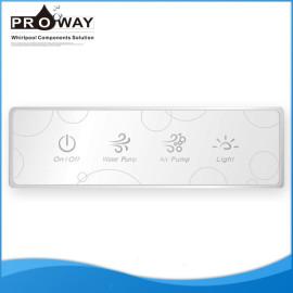 Bañera de hidromasaje controlador para masaje bomba de agua del aire luz bañera de hidromasaje electrónico