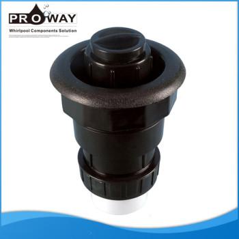 De China fuente de alimentación DV208 negro SPA piezas de SPA de la válvula de drenaje