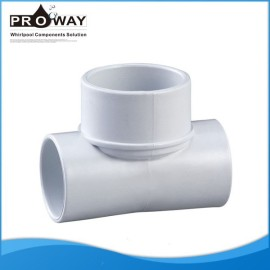 Para SPA de suministro de agua en forma de T de instalación de tuberías