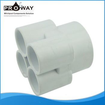 Spa de la bomba piezas de unión conjunta para el suministro de agua de PVC Pipe Fitting
