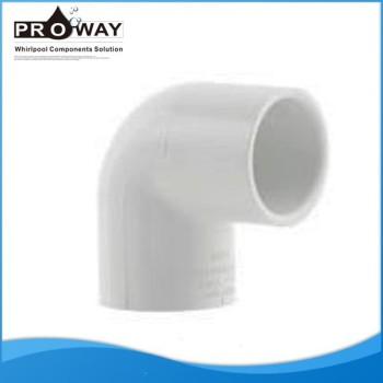 Para SPA de agua de la fuente codo Irresistible precio 90 Degree PVC Pipe Fitting