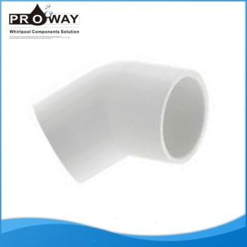 Para SPA de suministro de agua de alta calidad 45 Degree codo PVC Pipe Fitting