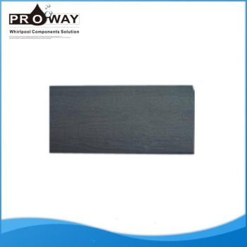 Gris oscuro de grabación en relieve de 80 * 9.5 mm alta calidad de SPA de la falda