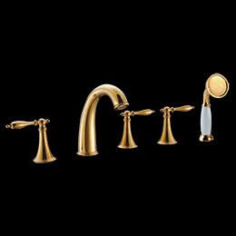 Glod Bathtub Faucet/GLT001