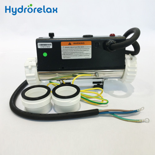 Hot Tub Spa Accessories 3 KW Flow Type Spa Heater