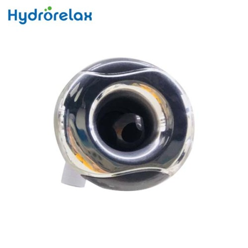 Bathtub Massage PVC body Stainless Steel Cover Wave Rotational Spa Jet Spa Nozzle