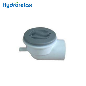 Stainless Steel Cover PVC Body Low Profile Bathroom Drainer suction