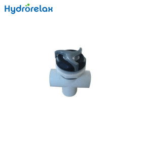 Spa Accessories 1.5'' Three-way Diverter Valves Water Flow Control Valve