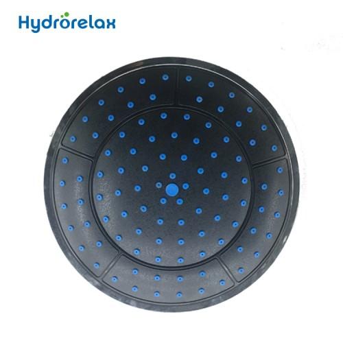 Shower Cabin Plastic Round Rainfall Cell Mounted Head Shower Overhead Shower Sprayer