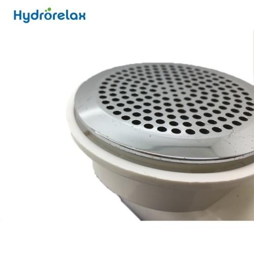 Bathtub tub stainless steel cap suction
