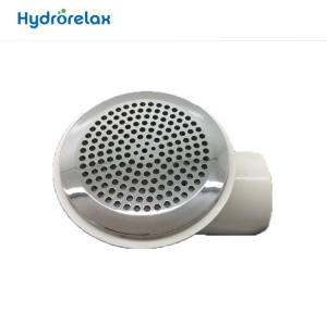 Bathtub tub stainless steel cap suction
