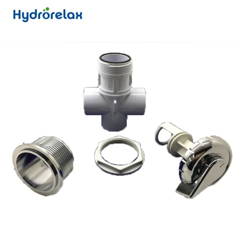 PVC Bathtub Parts Push Button Water Valve