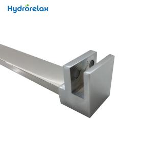 Customized Length Shower Room Corner Bath Rod