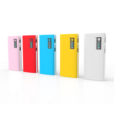 Doca D566A 13000mAh Portable Power Bank with 6 Colors
