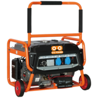 OO power 2.5kw Electric starter brushless generator new type OO-GG2500N Wheels and Handle
