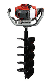 O O Power Company EA52P 52cc with gasoline power earth auger| Hustil