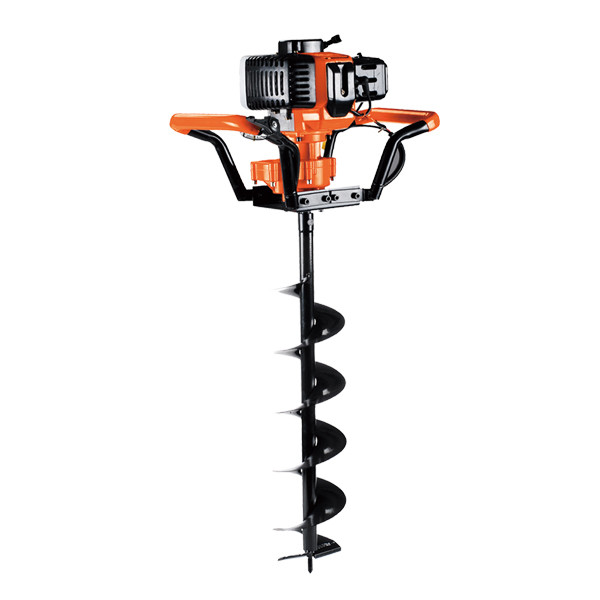 OO power Auger for Earth Drilling 52cc EA52B Gasoline Earth Auger Earth drill CE   hustil