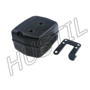 High quality gasoline Chainsaw H61/268/272 muffler assy