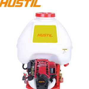 Garden and Agriculture Using Gasoline Knapsack Power Sprayer900 | Hustil