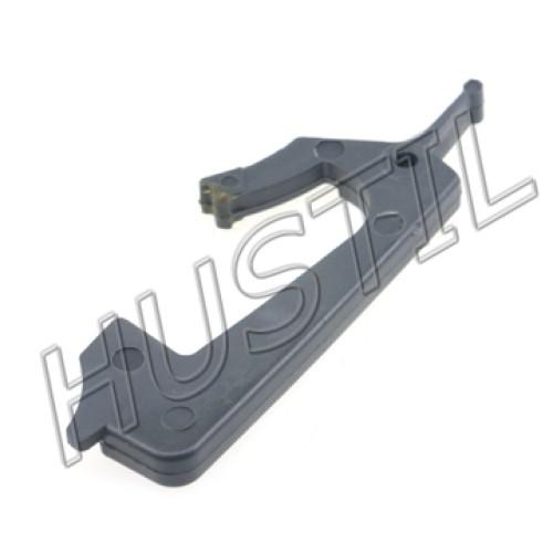 High quality gasoline Chainsaw   H137/142 Trigger interlock