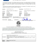 ETL certificate for hedge trimmer