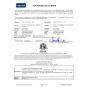 Certificado ETL para cortasetos