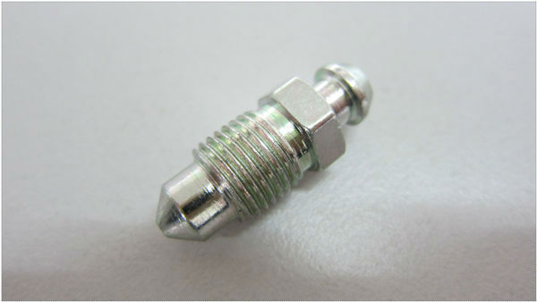 Special Bleed Bolt Fasteners for car