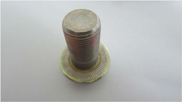 12.9 Grade Hex Flange Head Auto Fasteners wheel bolt
