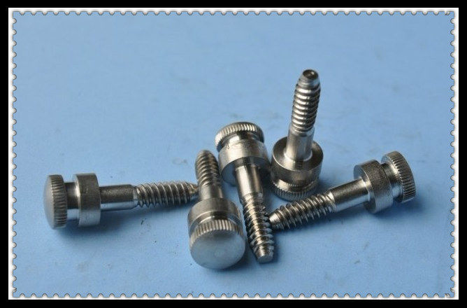 High Quality Stainless Steel Knurled Screw