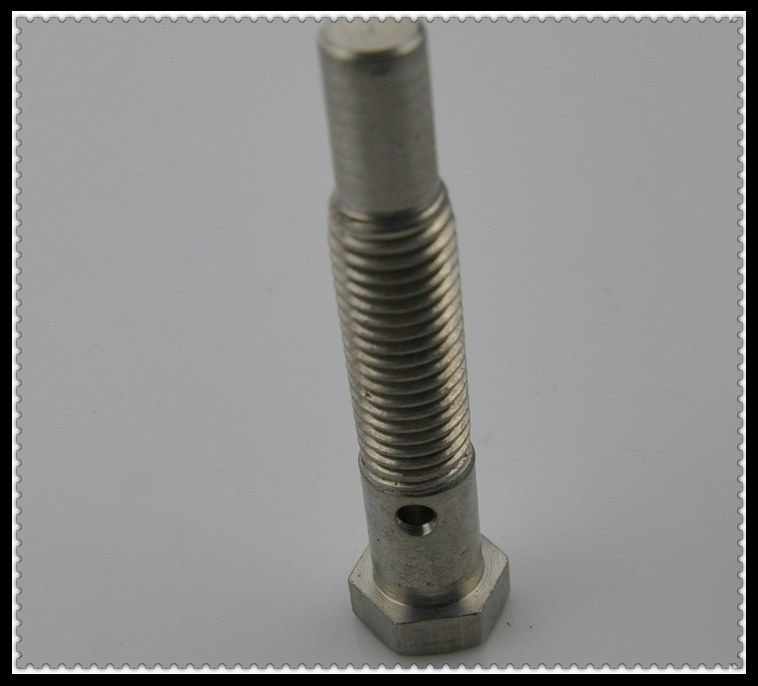 High Quality Special Hex Head Bolt with hole Wheel Bolt